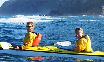 Boulders beach kayaking